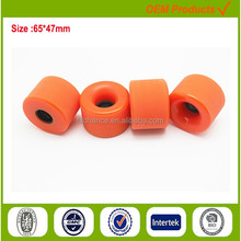 High reround wide blank skateboard wheels