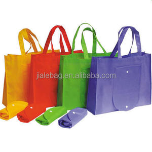 Promotional Cheap Customized Foldable Laminated Eco Fabric Tote Non-woven Shopping Bag,