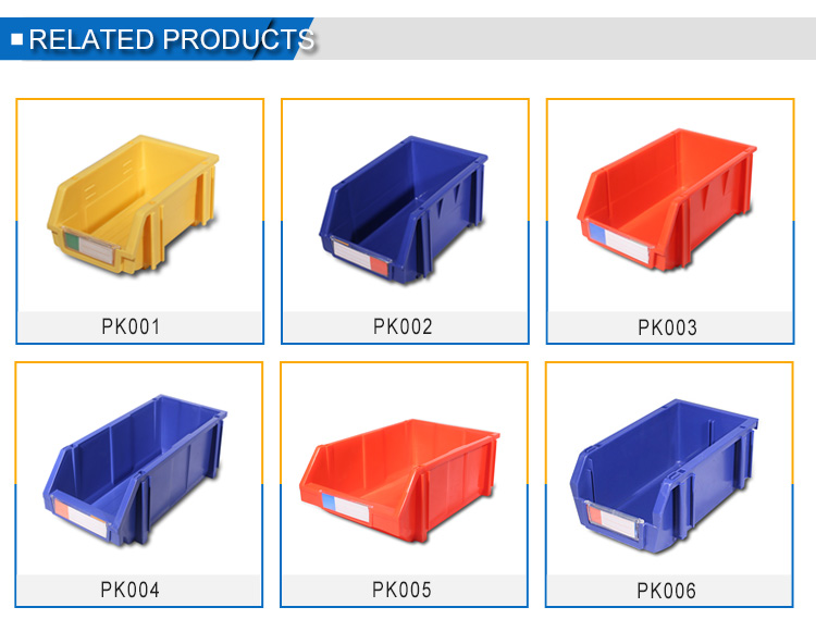 Factory Direct Sale Durable parts picking storage boxes bins