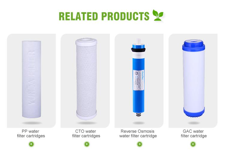 Di alta Qualità Depuratore di Acqua di Ricambio Inline osmosi inversa filtro a Carbone