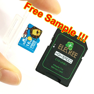 Eletree  customized logo class 10 16gb 32gb 64gb 128GB memery card