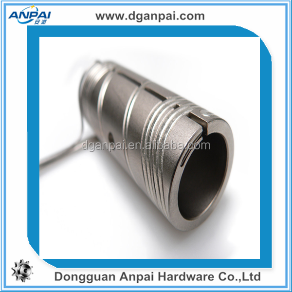 China best service Machining Parts Type and Aluminum Material CNC Turned Components