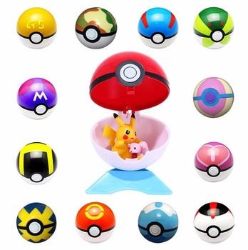 7cm popular toy pokemon toys go poke ball various colors pokemon