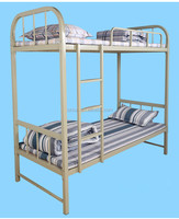 Low Cost Metal Frame Modern Double Decker Bed Design - Buy Double ...
