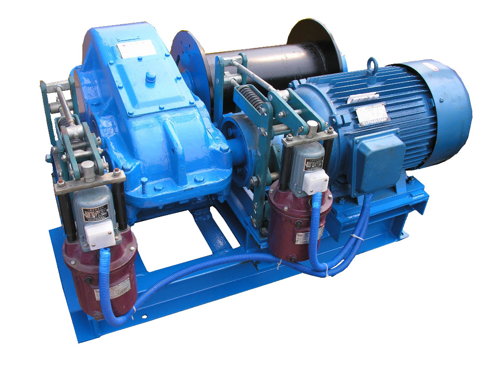 Hydraulic Cable Pulling Machine : Wire rope pulling cable winches with good price buy