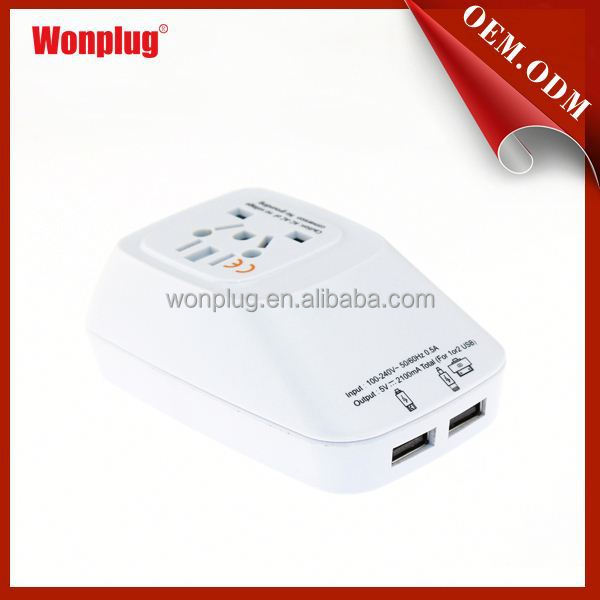 Hot sale! new arrival factory direct selling multi adapter travel adapter with au us uk eur plug