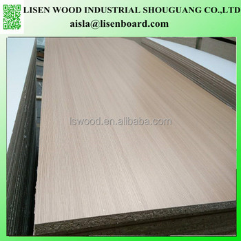 Melamine Laminated Particle Board Chipboard Osb For Furniture