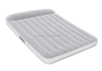 0415c2077550 Bestway Queen Size Mattress Inflatable Blow Up Air Bed With Built In  Pump pillow