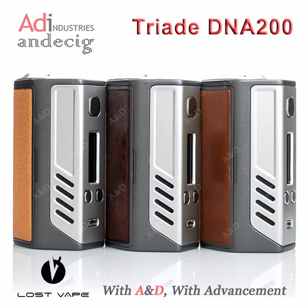2016 New model 100% Original Lost Vape Triade DNA200 with wholesale price