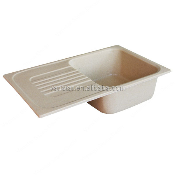 China Factory Acrylic Kitchen Sinks, Man Made Stone Kitchen Sinks