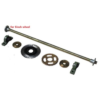 Karting Go Kart 110/78mm Frange Motorcycle Rear Axle With Sprocket Disc  Rotor - Buy Karting Rear Axle Product on Alibaba com