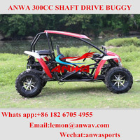 high quality shaft drive 1500cc off road 4x4 dune buggy two seat go kart