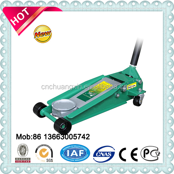 3 ton,5 ton and 10T long crocodile jack hydraulic trolley jack Manual and Portable car floor jack