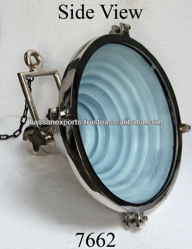 Exporter of Nautical Marine hanging search light, Focus Lamp
