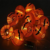 Factory Price Warm White Led 3 inch Lantern Halloween Decoration