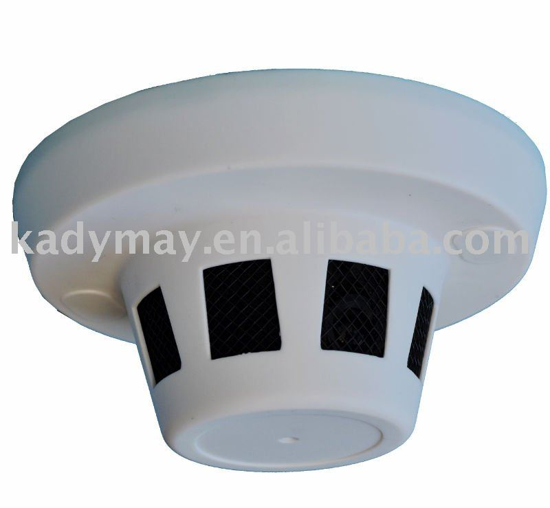 CCTV Smoke Detector Outline Hidden Camera