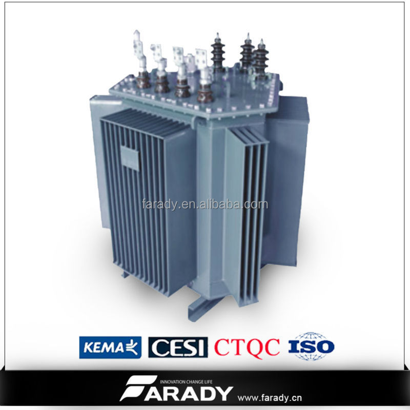 33kv 415v 1000kva 3 Phase High Voltage Electrical Oil Immersed ...