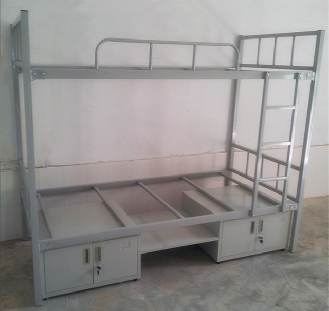 Simple Dormitory Bed Design Double Bunk Beds Size - Buy ...