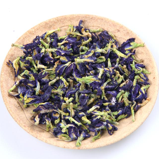 Wholesale Natural Flavor Tea Dried Blue Butterfly Pea Flowers - 4uTea | 4uTea.com