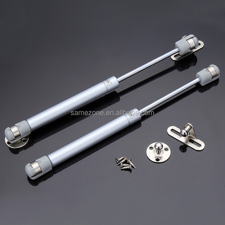 10N - 1000N furniture windows cabinet car hardware gas <strong>spring</strong> for wall bed