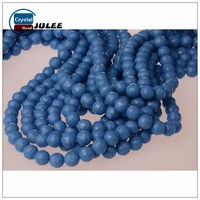 6mm 8mm glass beads manufacturers reflective beads making machine crystal beads for wedding dress
