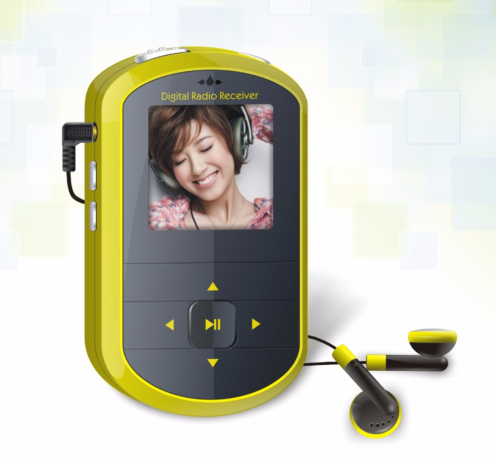 Desktop DAB+ Mini Pocket Digital FM Digital Radio/ Radio MP4 Player pocket Sized DAB+ fm radio Factory supply