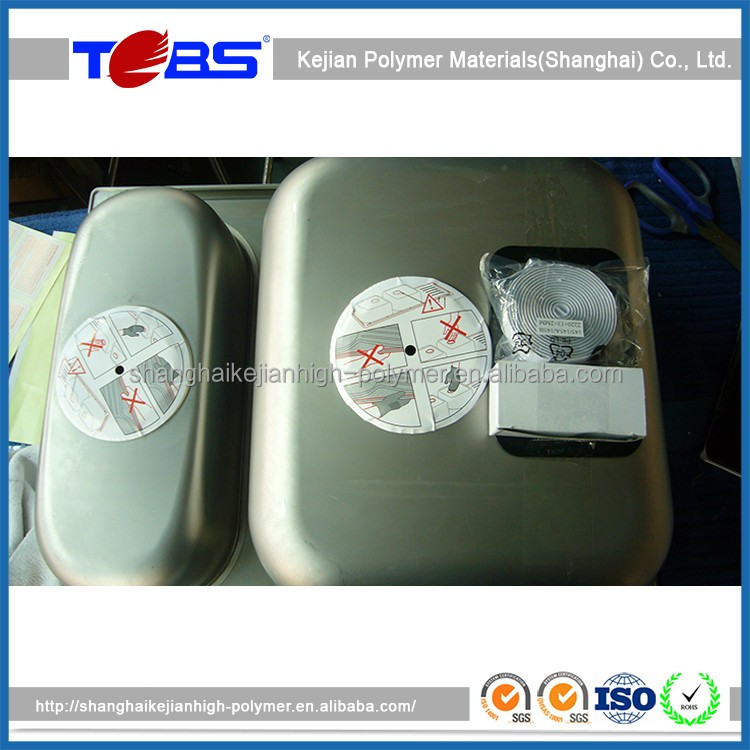 High Quality Butyl Rubber Sealant Tape , Self Bonding Adhesive Tape