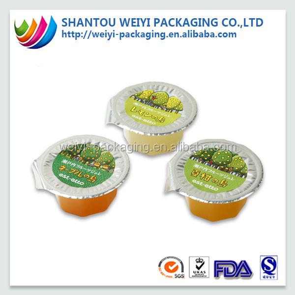 Heat Sealing Film Customized Bubble Tea Cup Sealing Film