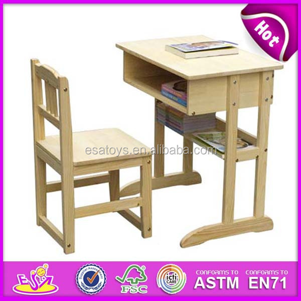 Pleasing Wooden Kids Desk And Chairs With Magnetic Board Wooden Toy Cheap Study Table For Kids Students Child Cheap Study Table Wj278559 Buy Cheap Study Gmtry Best Dining Table And Chair Ideas Images Gmtryco