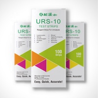 New brand URS-10T urine test strips 10 parameters Nitrite pH Protein Blood Ketone Glucose