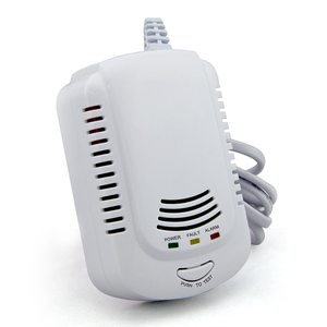 High quality standalone independent combustible gas natural gas LPG LNG coal gas alarm detector with 9v battery or 220v