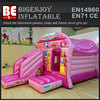 Multifunctional inflatable princess palace combi castle slide