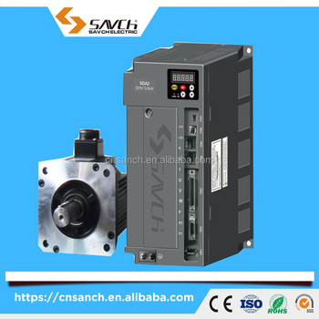 Sanch high position new performance 2kw single/three phase 220v/380v ac servo motor drive for automative equipment