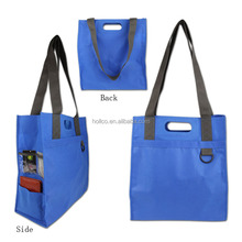 Promotional Non- woven Customized Shopping Tote bag Shopping Organizer