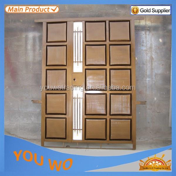 Dise os de jard n parrilla de acero galvanizado puerta - Puerta de acero galvanizado ...