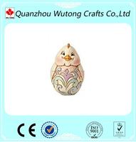 Easter Day resin egg for Easter figure, Cheap resin Easter egg craft of gift items