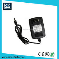 For cctv computer use 100v-240v ac to dc 12v power supply with CE FCC RoHS approved
