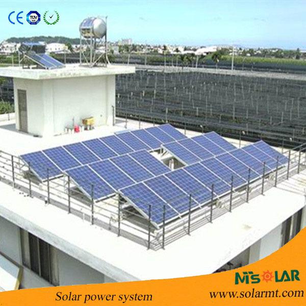 מעולה  1000 W 2000 W 3000 W מערכת אנרגיה סולארית ביתית/20kw מחיר מערכת UG-88