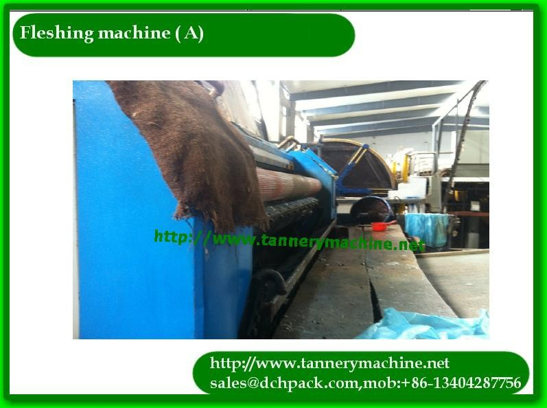 recondition or new tannery cow buffalo used flesh machine for sale
