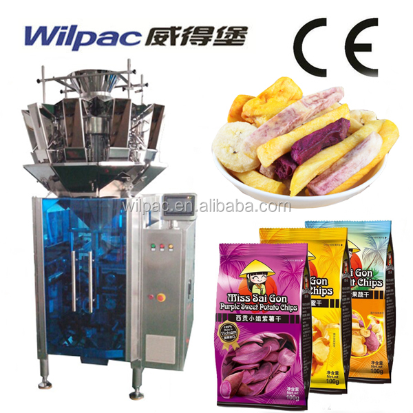 Economic Type Fresh/Dry/Frozen Vegetable Automatic Weighing And Packing Machine