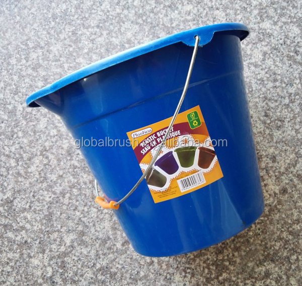 HQ2370 with metal handle for water storage 10L plastic bucket