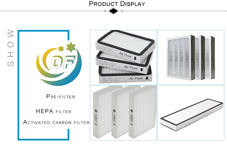 Filter B Premium True HEPA with 2 Activated Carbon Pre Filters Replacement for Air Purifiers FLT4825 AC4825