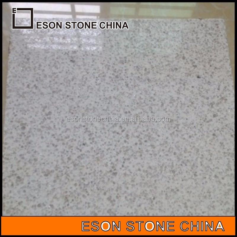 Eson Piedra 15 Pulido De Granito Blanco Perla Para La
