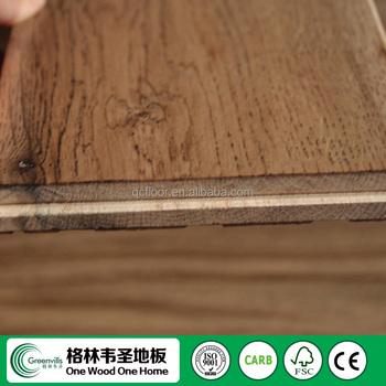 Solid Wood Oak Wood Flooring With 25 Years Life Span Buy
