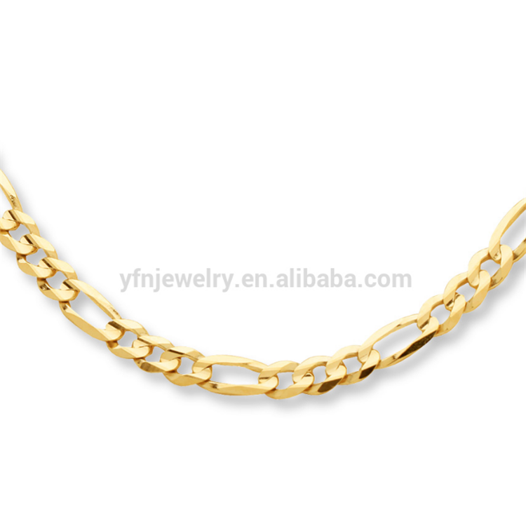 "14k Yellow Italy Gold Polished 18"" Chain Necklace Jewelry"