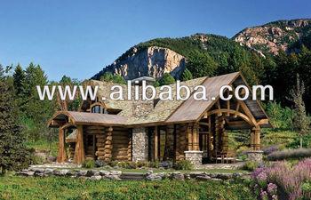 Case Di Tronchi Di Legno : Tronchi di legno case buy case prefabbricate in legno product on