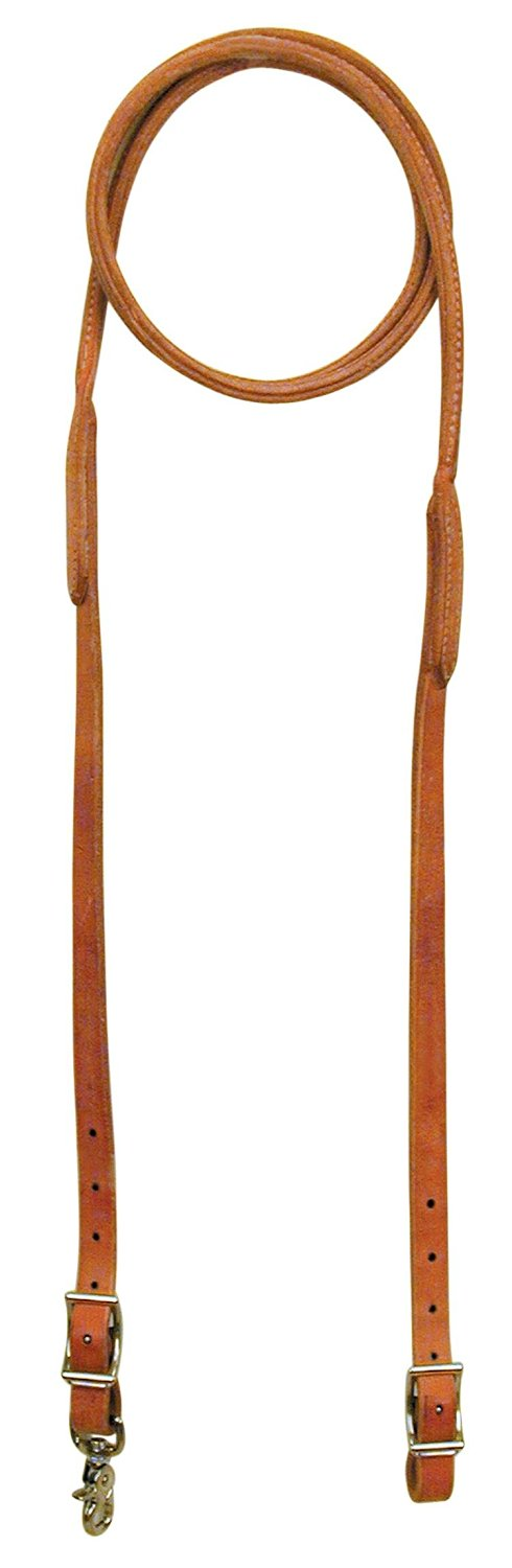 Reinsman Harness Leather Rounded Roping Rein