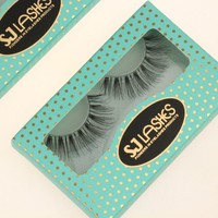 100% Siberian Mink Fur,Fur Material And Hand Made Type 100% Real Mink Fur Lashes