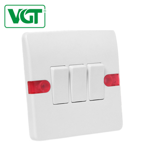 switch manufacturers waterproof light switch bathroom 3 gang 1 way switch