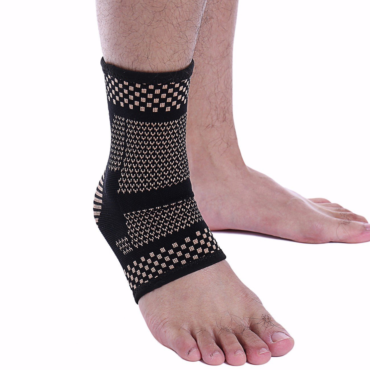 9273c8c6797d Get Quotations · KIWI RATA Compression Wrap Support. The Best Ankle Brace  for Reduce Swelling, Stabilizing Ligaments